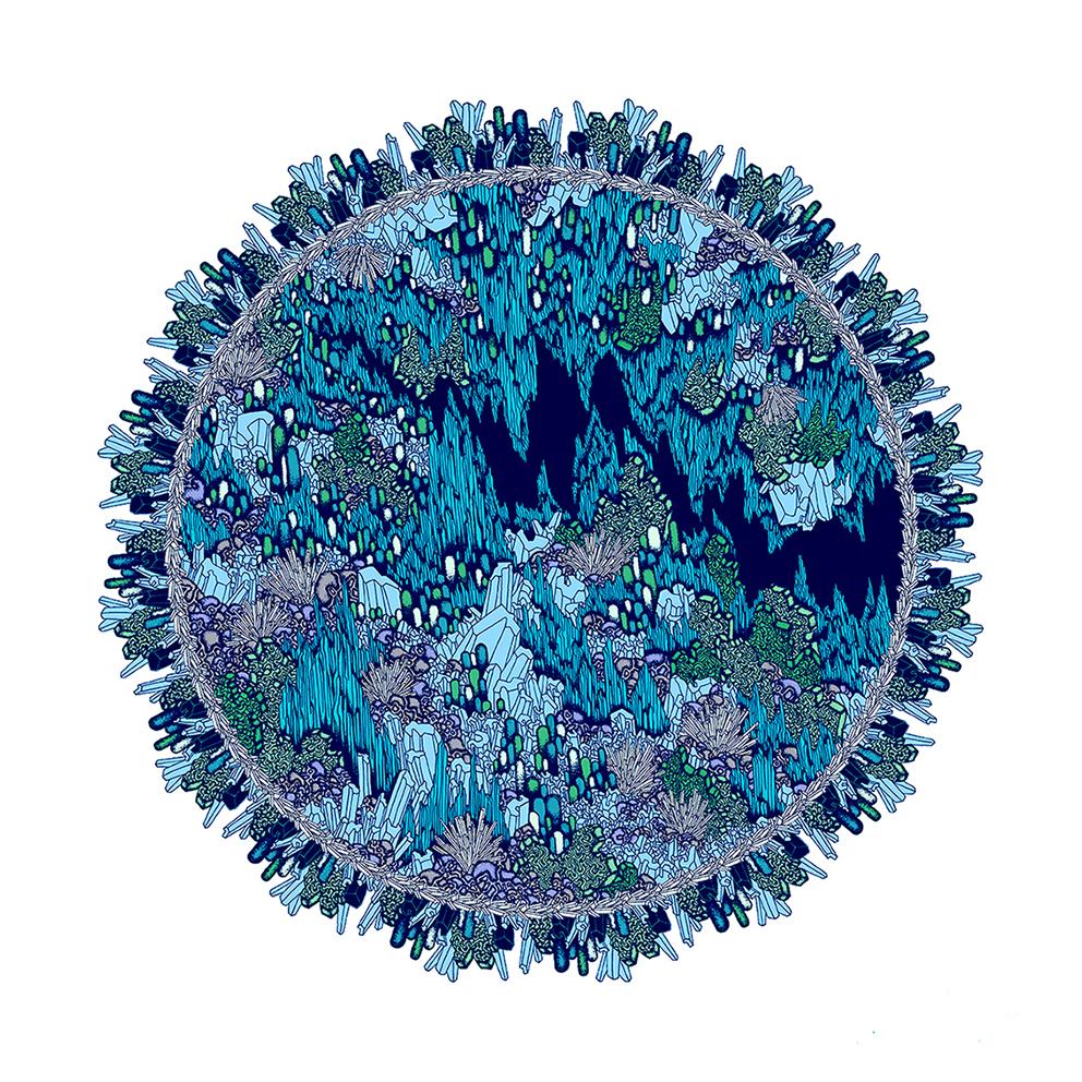 1 Gram of EARTH 003 , 2016,50cmx50cm.Giclee print, edition of 50.