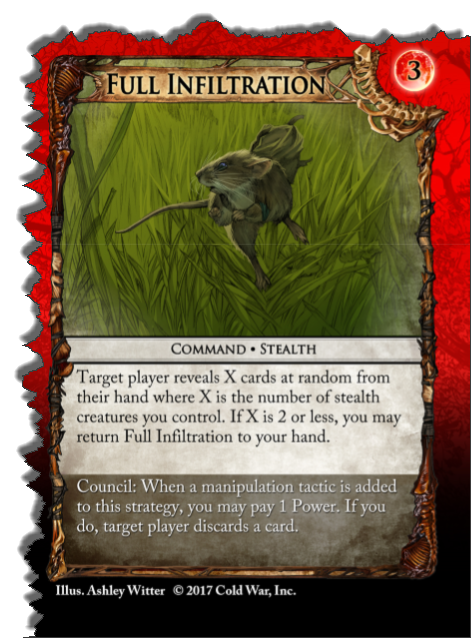 What a workhorse! - Your opponent didn't need those cards anyway.