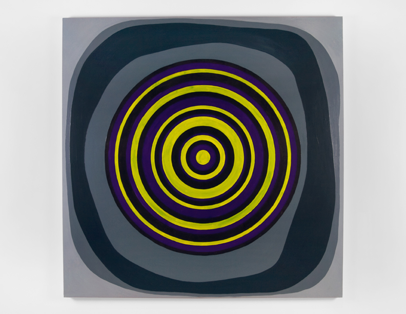 """""""Gotham"""", 2008 , oil on canvas, 72 x 72 inches"""