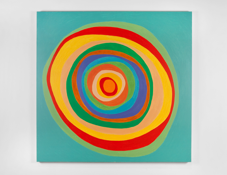 """""""Untitled"""", 2007 , oil on canvas, 72 x 72 inches"""