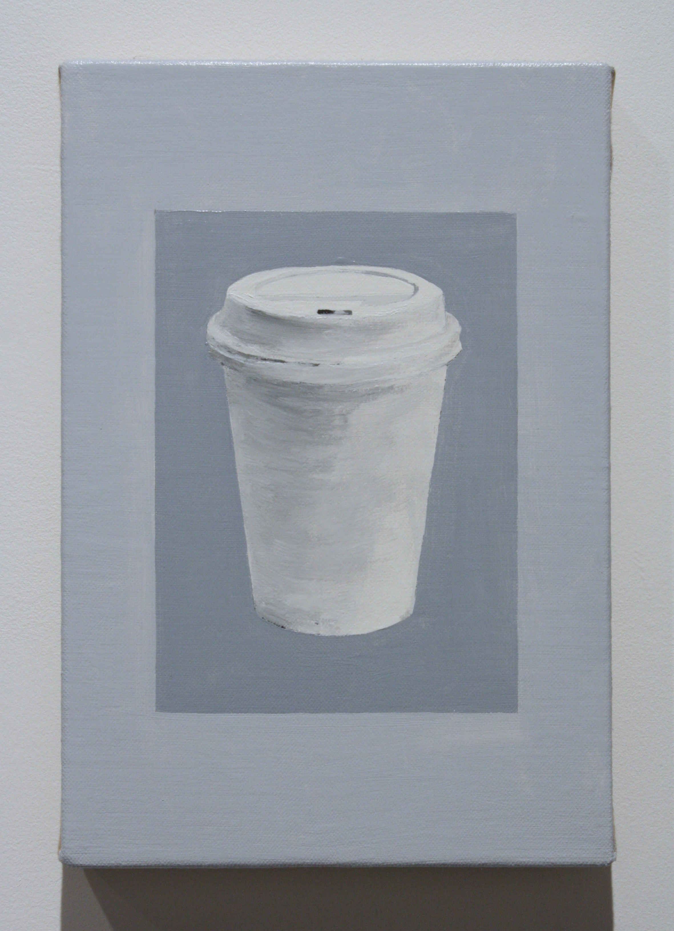 """Untitled, (Cup)"", 2016 , oil on linen, 12 x 8 inches"
