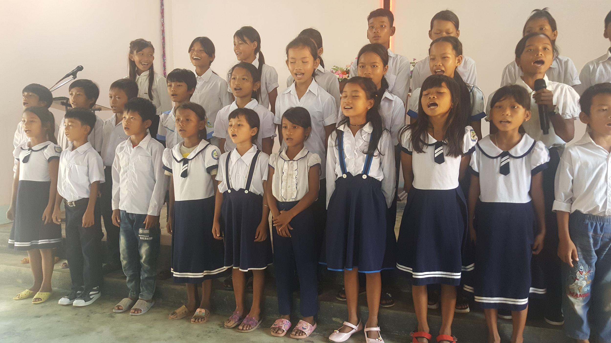 Praising God in Asia