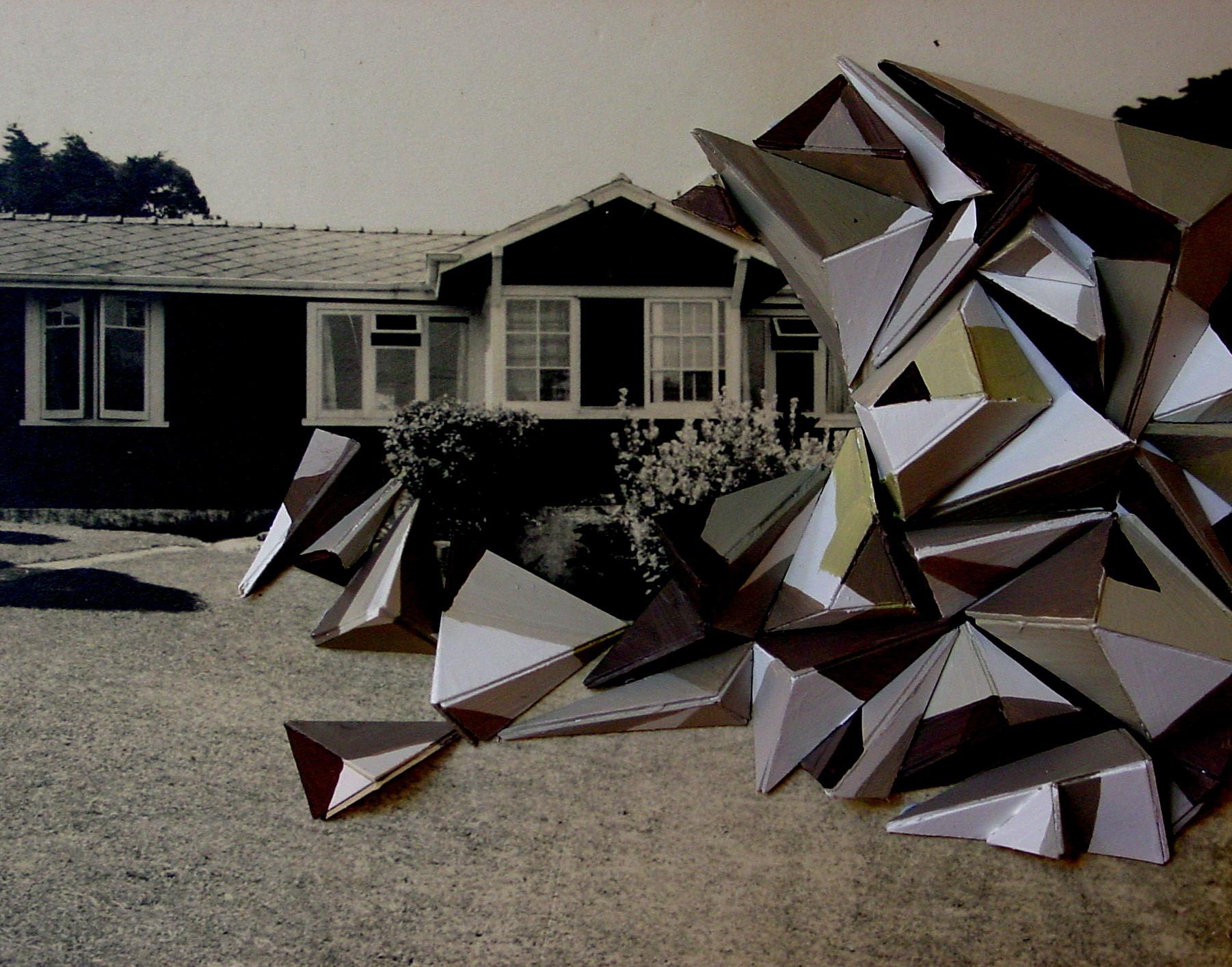 Pile (Kent Woodshed, Smithson), 2006