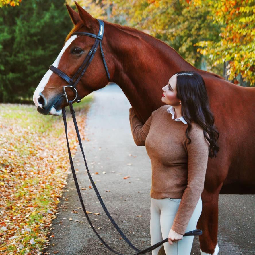 Shawna and her mare Gigi aka Giczelle