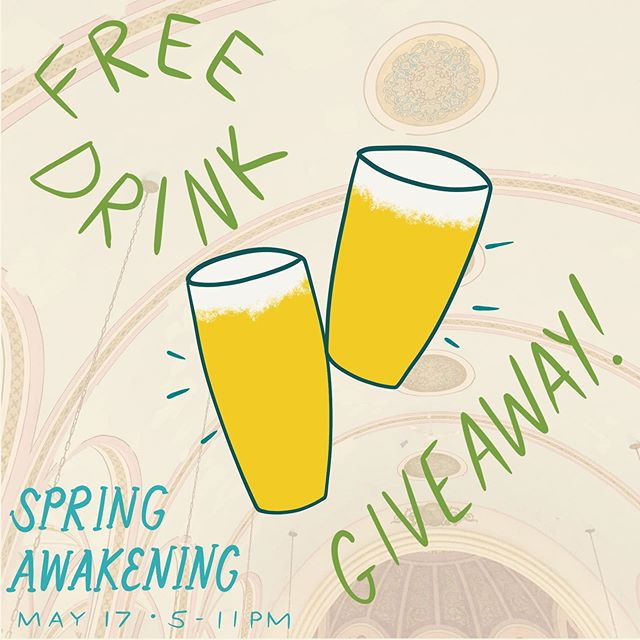 Spring Awakening is *2* DAYS AWAY! 🌿🌿 Like this post and tag a friend in the comments below to be entered to win *2* drink tickets at the event! (Share this post to your story and get an extra 5 entries! 🤑) @ninepincider and @rareformbrewco will be flowing, take your pick or do one of each! 🍻 Cheers n good luck, contest closes at 7PM tomorrow and winner will be announced at 9! 👍🌸🍺 (Must be 21+ to enter, duhhh)