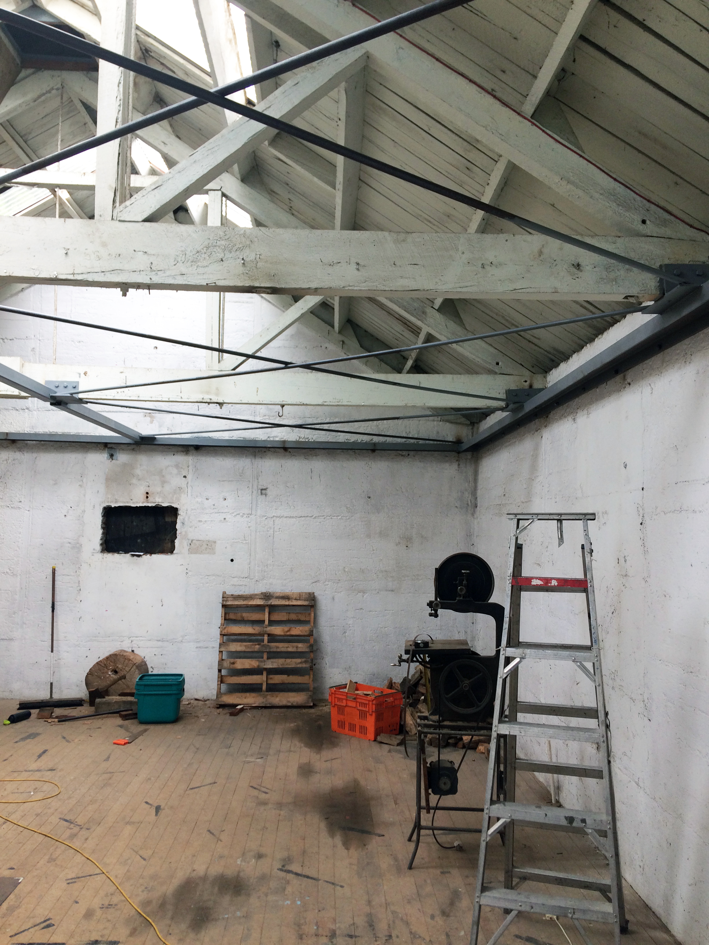 Warehouse to family home… - We're currently working on a change of use from a warehouse building to family home…watch this space.