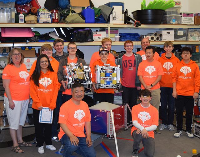 This has been an amazing 3 years of FTC but we are excited to say that the 2018-2019 Rover Ruckus session was out last. We are joining with our fellow Cedar Park team @cpr3663 .