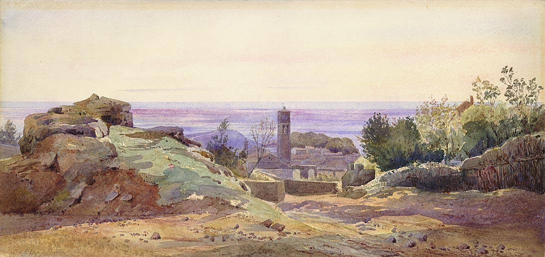 Henri-Joseph Harpignies<br><small>(Valenciennes&nbsp;1819 - 1916&nbsp;St&#8209;Prive&nbsp;(Yonne))</small>