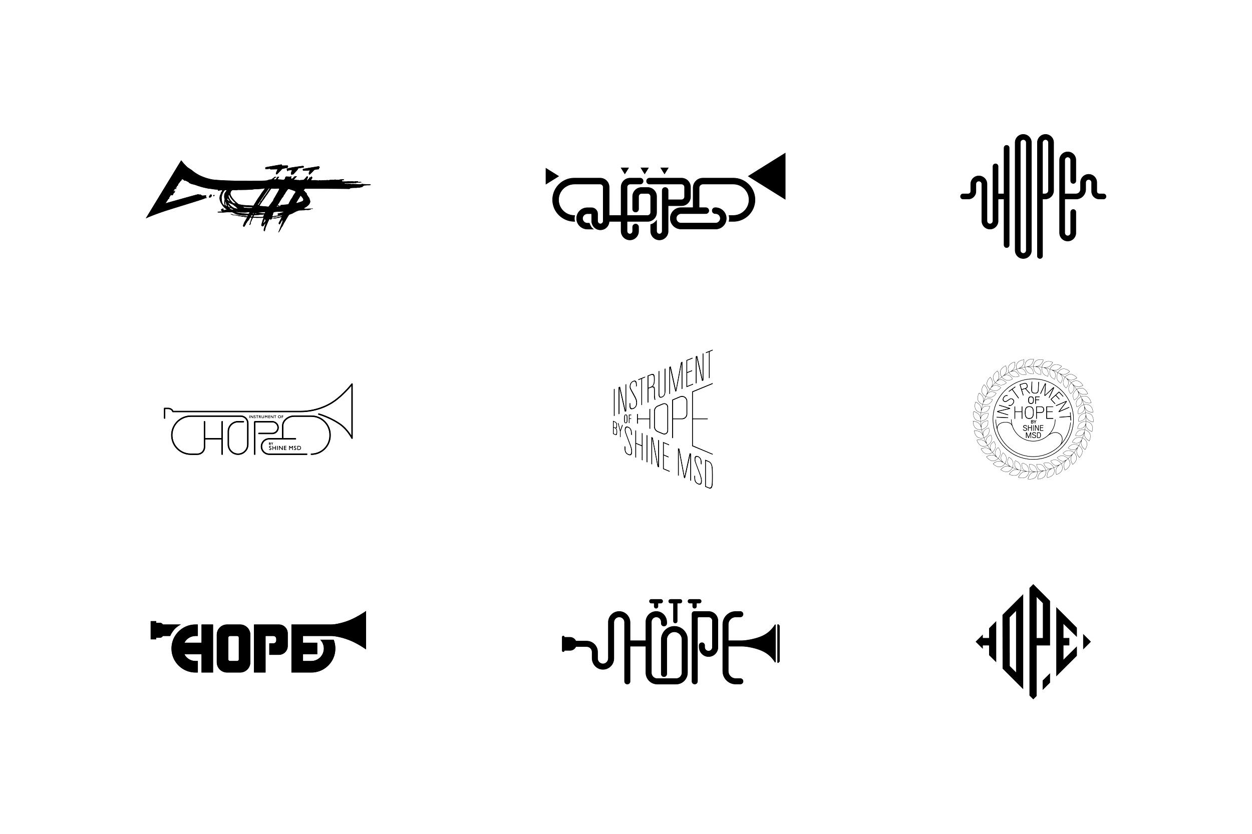 Instrument Of Hope Logo Design — Spencer Chan Works