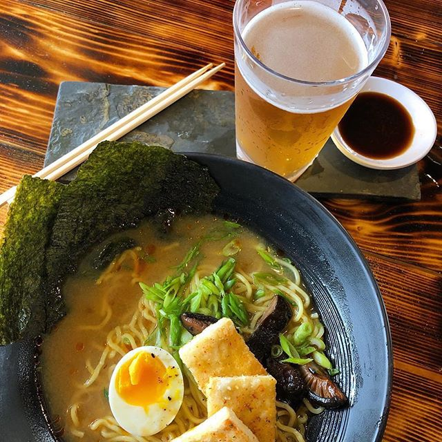 It's finally cold 🥶 (what is this sleet?!) We open at 3 today and a hot bowl of #ramen and a @dorcolspirits Betty on tap are the perfect remedy to this chilly weather. 📸: @dorcolspirits . #sanantonio #satx #neighborhoodeats #sanantoniofood #bestfoodsanantonio #foodie #foodporn #kuriyasatx #cherritybar #drinkforacause