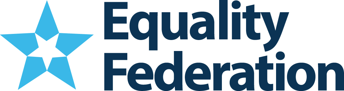 Equality Federation - Equality Federation is the movement builder and strategic partner to state-based organizations advocating for LGBTQ people. From Equality Florida to Freedom Oklahoma to Basic Rights Oregon, we amplify the power of the state-based LGBTQ movement. They collaborate on issues such as workplace equality and anti-transgender bathroom bans, in addition to intersectional issues such as reproductive justice and immigration, to ensure that LGBTQ people of all ages and walk of life have fair and equal opportunity to thrive. By training and supporting strong local leadership, they ensure that LGBTQ leaders on the ground in their states can fend off attacks and advance protections for LGBTQ people in their legislatures.