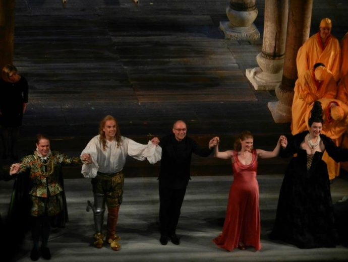 Semele - Brooklyn Academy of Music, with Christopher Moulds and the orchestra of the Canadian Opera Company, March 2015