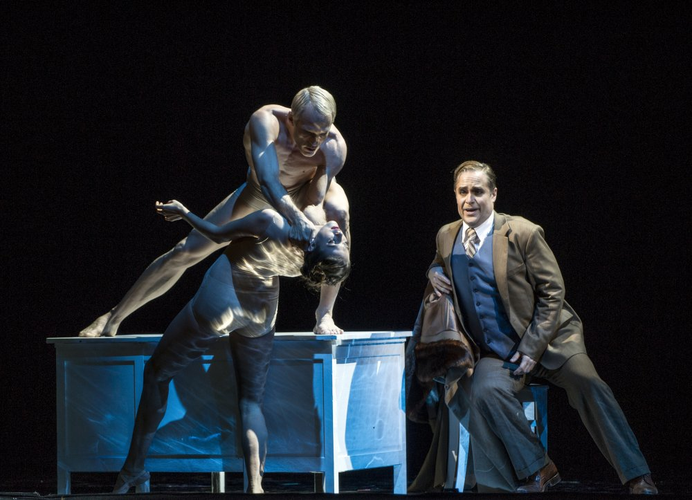 Lawrence's recent appearance as Orfeo at the Norwegian State Opera - October 2013Click to view