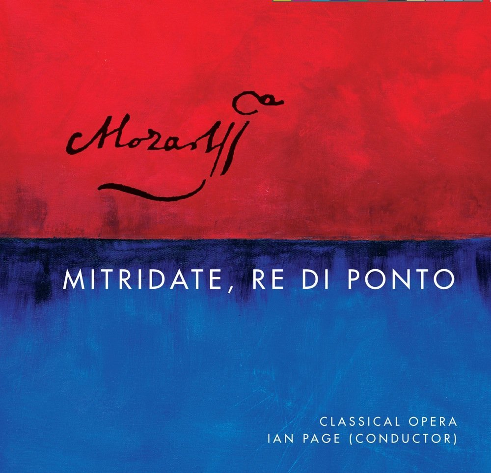 Mozart's Mitridate - Lawrence will also sing Farnace on the first complete recording of Mozart's Mitridate with Ian Page and Classical Opera, to be released on Signum Classics in October 2014Click here to order from Amazon