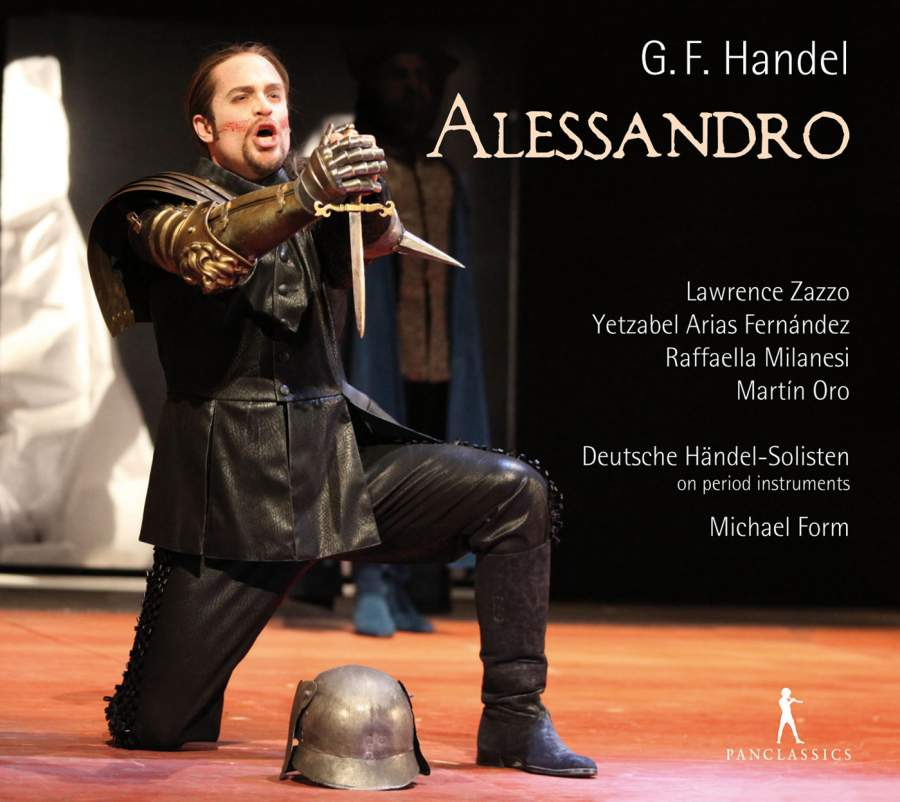 Handel's Alessandro - On Pan Classics, a live CD recording Handel's Alessandro at the Haendel Festspiele, KarlsruheClick here to order from Amazon
