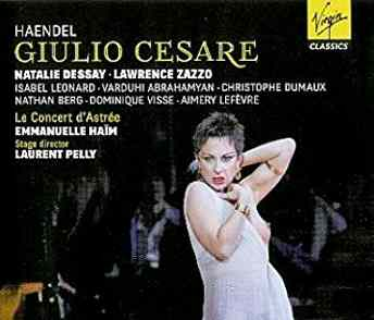 Handel's Jiulio Cesare - On Virgin Classics, a DVD of Laurent Pelly's production of Giulio Cesare at the Opera de Paris, 2010