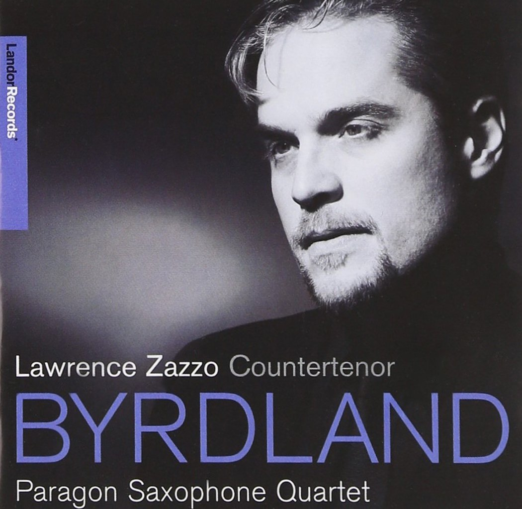 "BYRDLAND - The music of William Byrd, John Dowland, and Henry Purcell with the Paragon Saxophone Quartet""A genuinely illuminating meeting of jazz and Renaissance traditions"" Daily Telegraph"