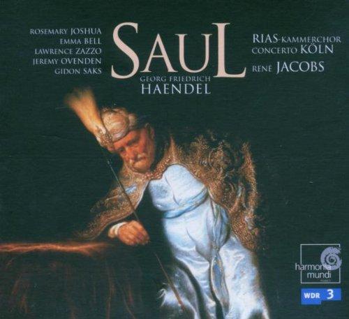 Handesl's Saul - Rias-KammerchorConcerto KolnRene Jacobs dir.Click here to order from Amazon