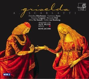 Scarlatti's Griselda - Akademie fur Alte Musik BerlinRené Jacobs, dir.Harmonia MundiClick here to order from Amazon
