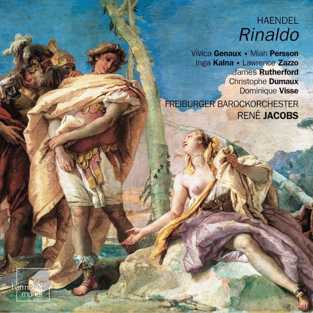 Handel's Rinaldo - Freiburger BarockorchesterRené Jacobs, dir.Nicolao Figuereido , Piers Maxim, cembaliHarmonia MundiClick here to order from Amazon