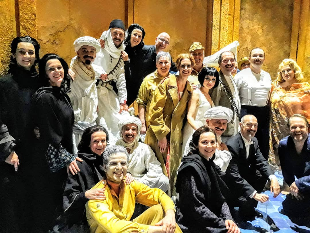 Giulio Cesare at Semperoper Dresden - 'From the outset, [Zazzo] gives us a dazzling
