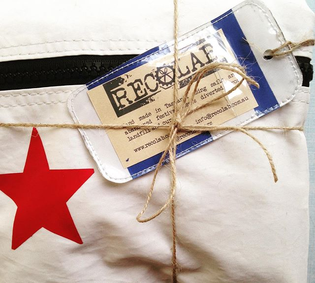 Did you know that our Roaring 40s and Jet Stream Gear Bag range come with a cute as FREE luggage tag? Both bag styles $10 off in the webstore now!! #luggagetag#travel#adventure#air#sea#roadtrip#discovertasmania#upcycle#reuse#saynotosingleuse#star#sailing#ecofriendly#sailbag#wepostworldwide