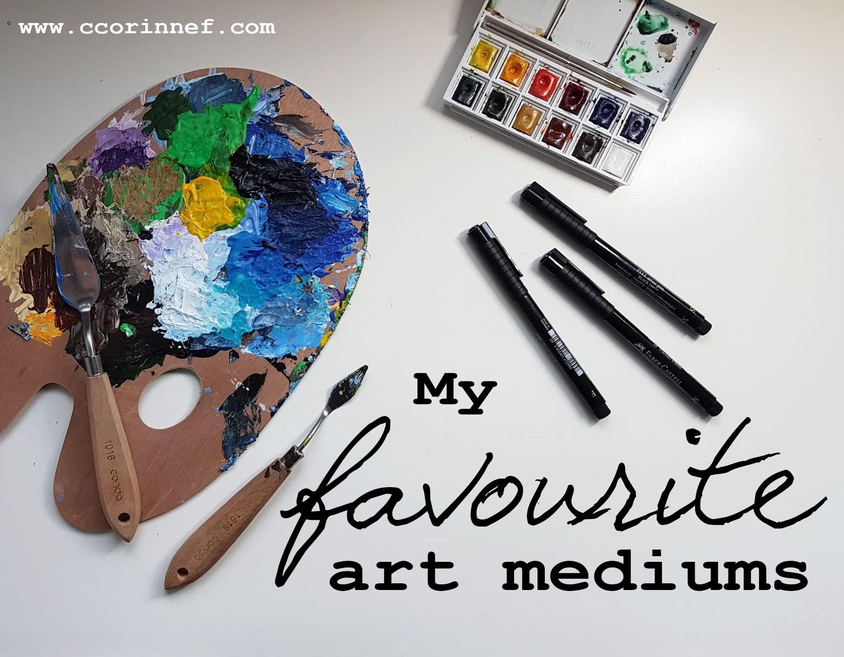 my-favourite-art-mediums