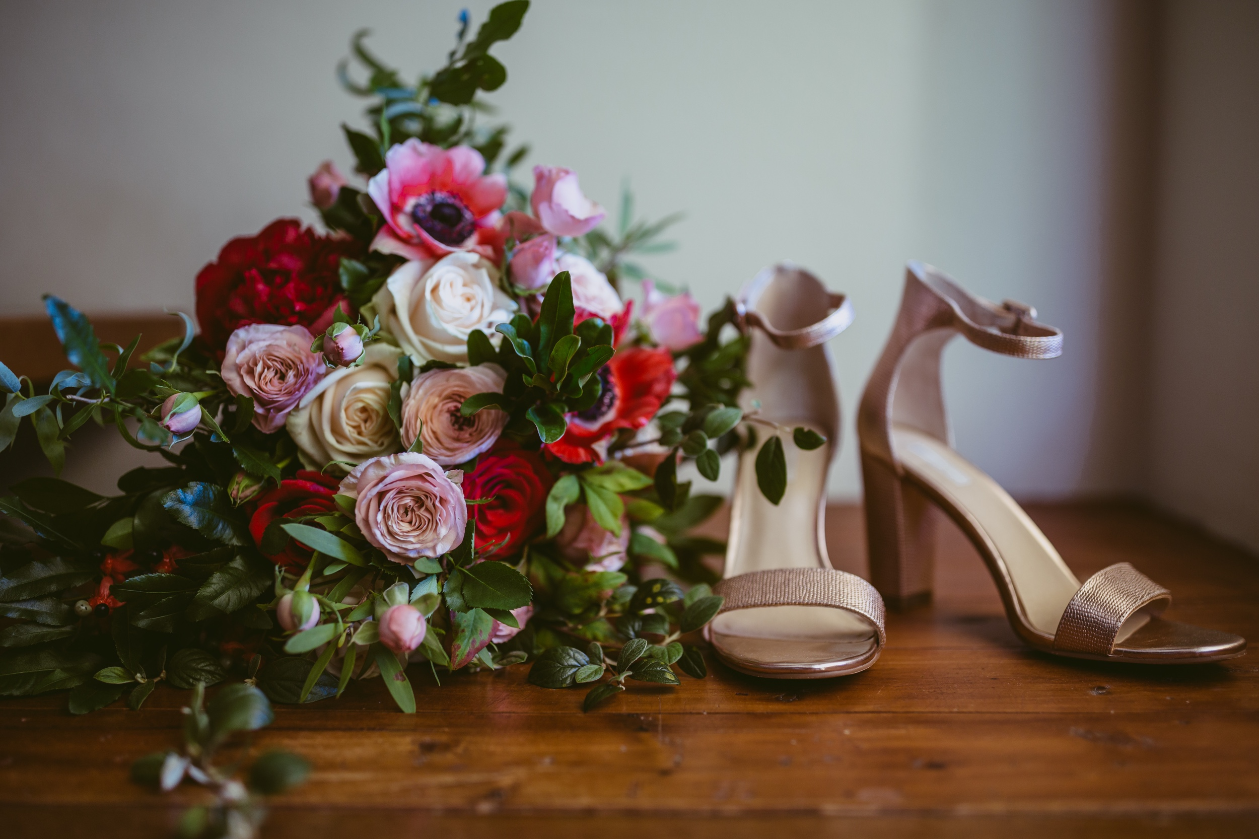 Hand tied posy bouquet