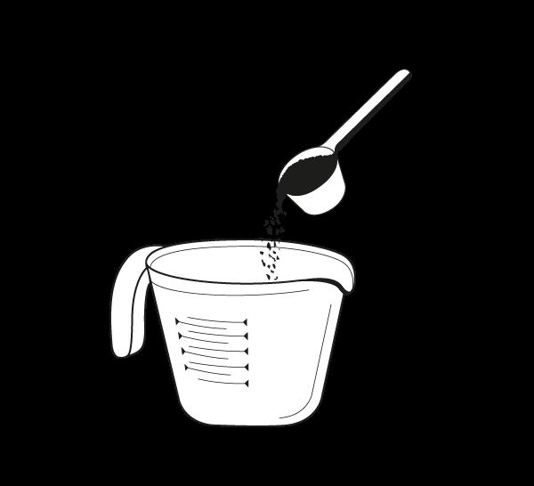 4 EQUILIBRIO - Conocemos las proporciones ideales para preparar nuestro café frío. Hemos encontrado el equilibrio perfecto.