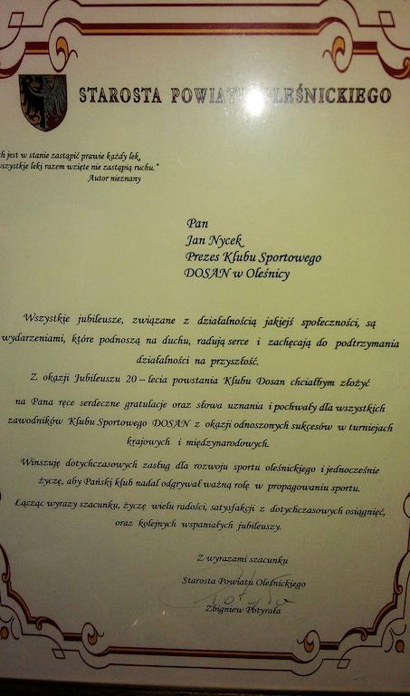 Starosta Powiatu Oleśnickiego