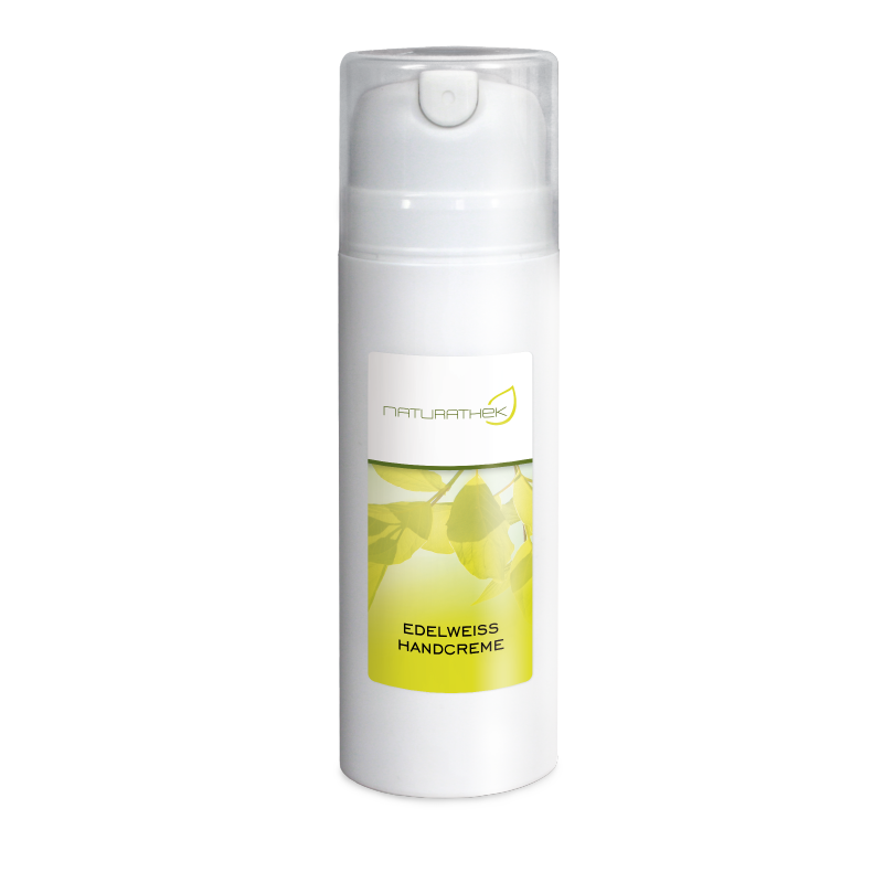 Edelweisshandcreme   Pflegt und nährt mit natürlichen Wirkstoffen. Zieht schnell ein und duftet angenehm frisch.
