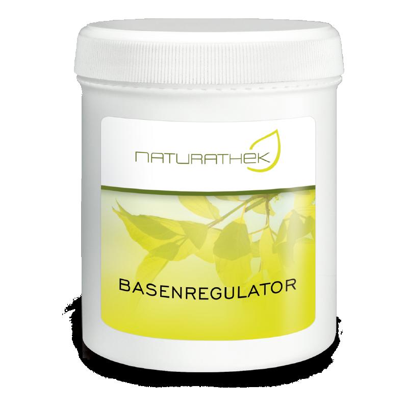 Basenregulator   Mit dem Basenregulator zu höherer Vitalität, grössere Spannkraft. Reguliert den Säure- Basenhaushalt.