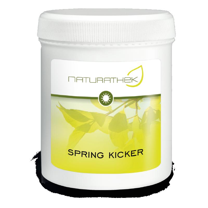 Spring Kicker Tag   - als effiziente Frühlings-Entschlackungs-Kur - zur Aktivierung der Ausscheidungsorgane Leber, Galle, Darm und Nieren.