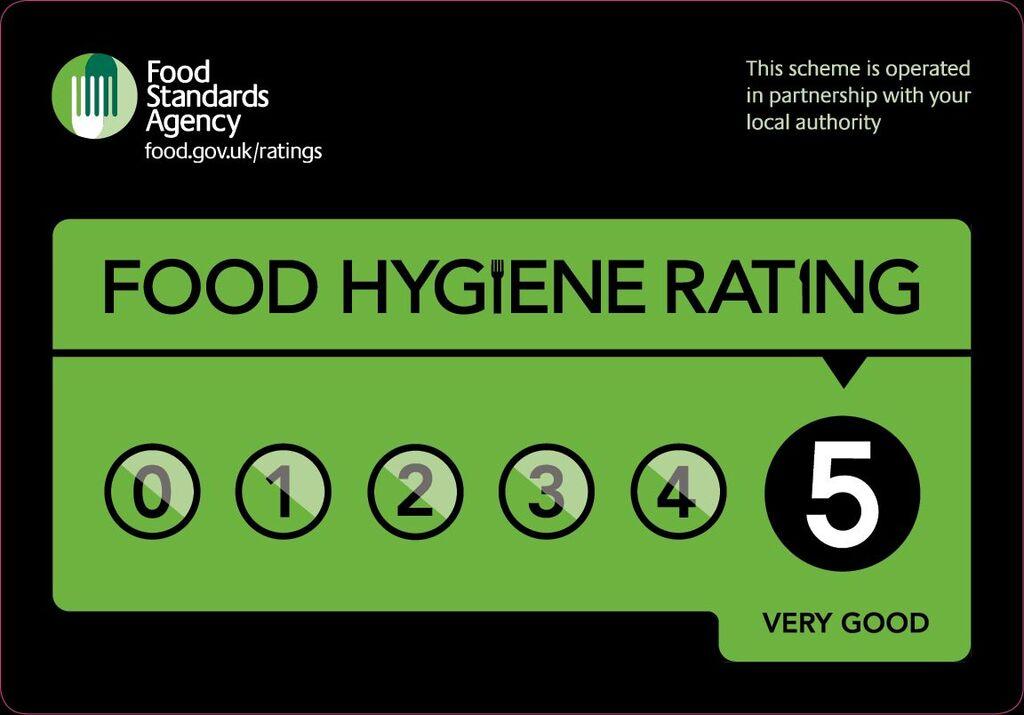 Very Good Food Hygiene Rating 5/5