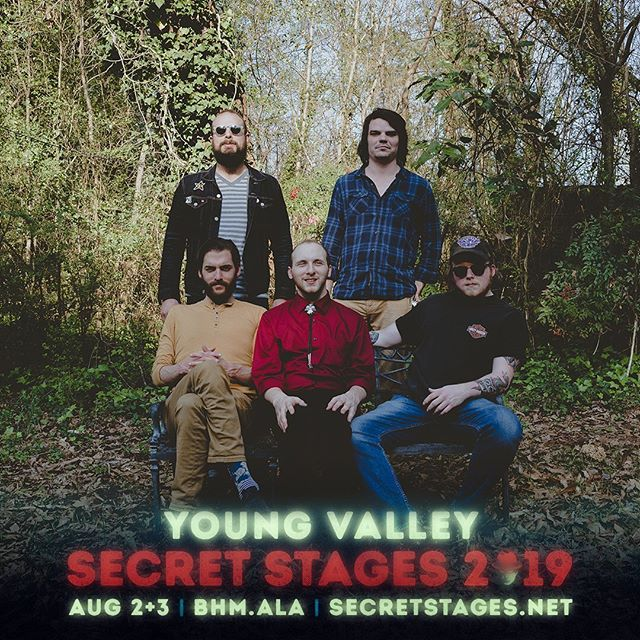 Can't wait to be back at @secretstages this year!! Excited to see some band homies and hear some of these killer acts 🤘Make plans to be in BHAM