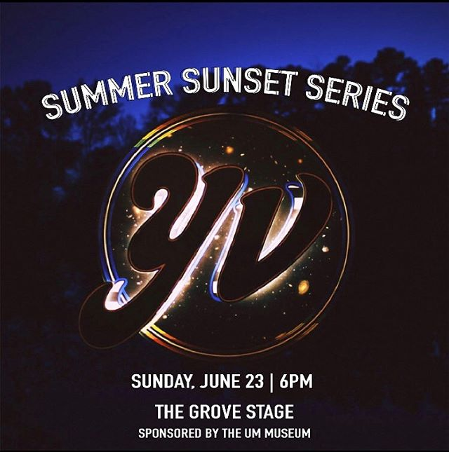 Hey OXFORD! We'll see y'all tomorrow in The Grove for a Sunday Funday party. We're kicking it off at 6. Bring your dancing shoes!