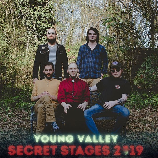 Really pumped about being back at @secretstages this year. It's truly a good ole time. Y'all come party with us! We play at 8 on Friday at @saturnbham 🤘Photo by @yung.walter