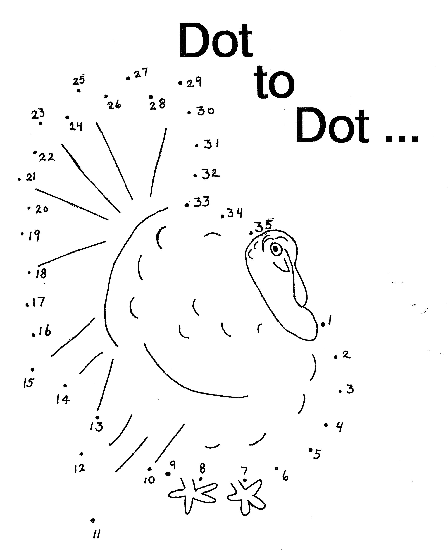 turkey dot to dot
