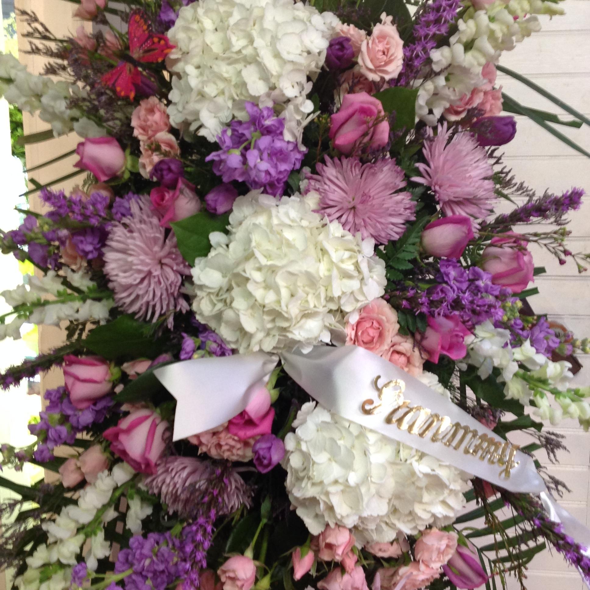 funeral sprays -