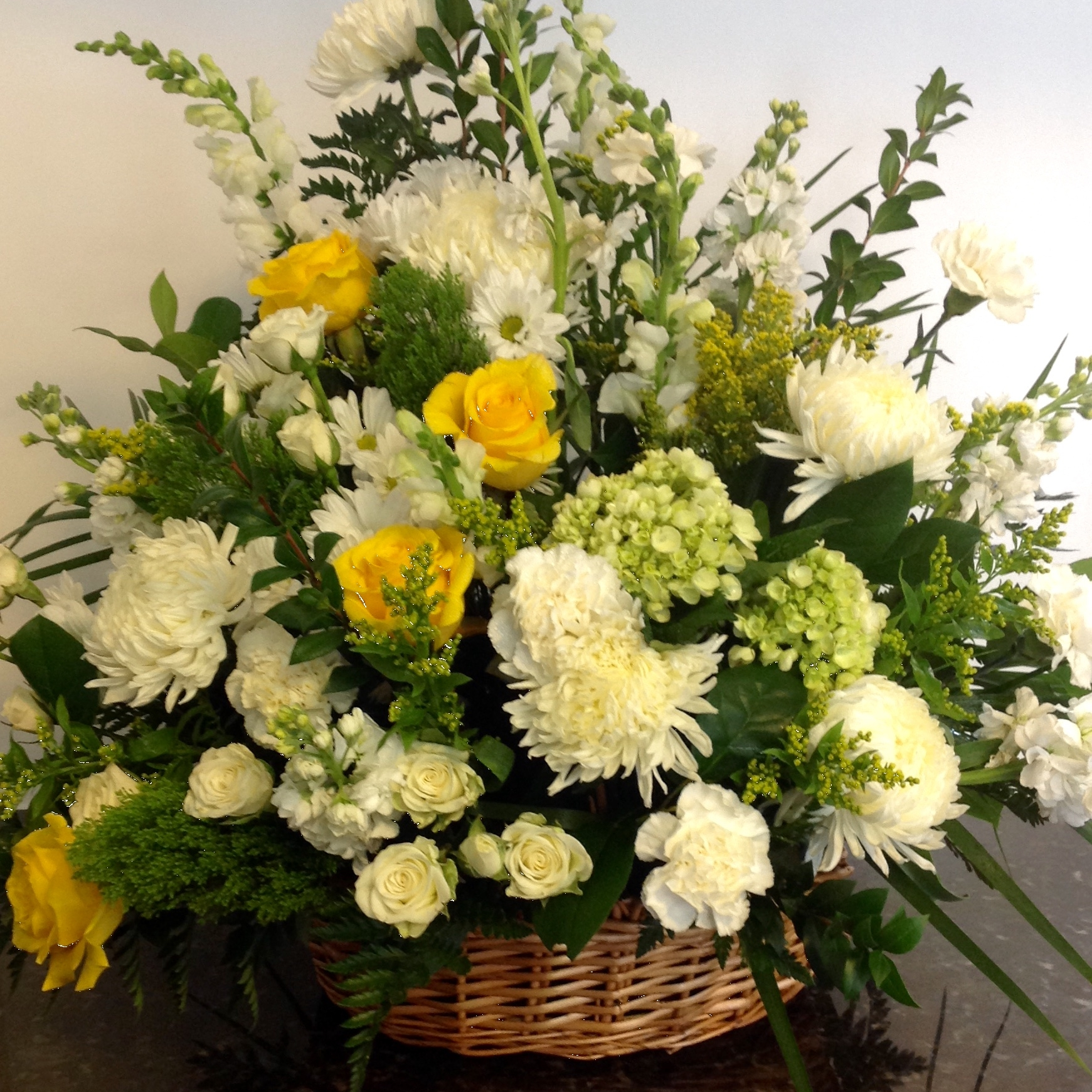 funeral baskets -