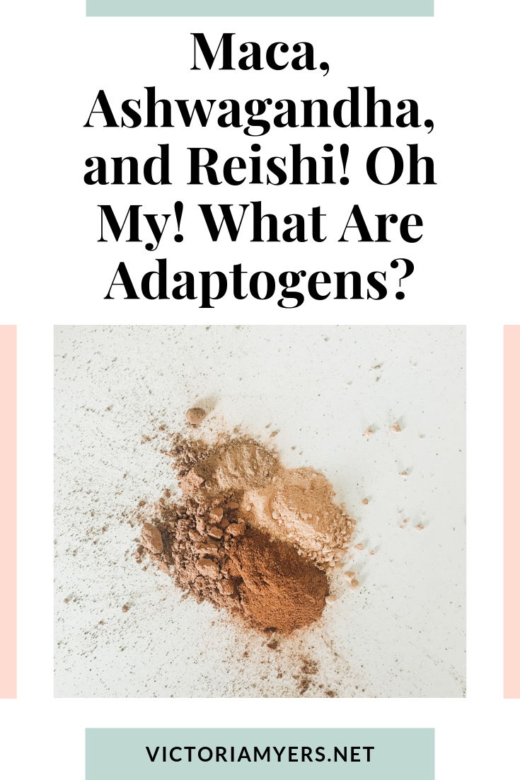 Maca, Ashwagandha, and Reishi! Oh My! What Are Adaptogens?