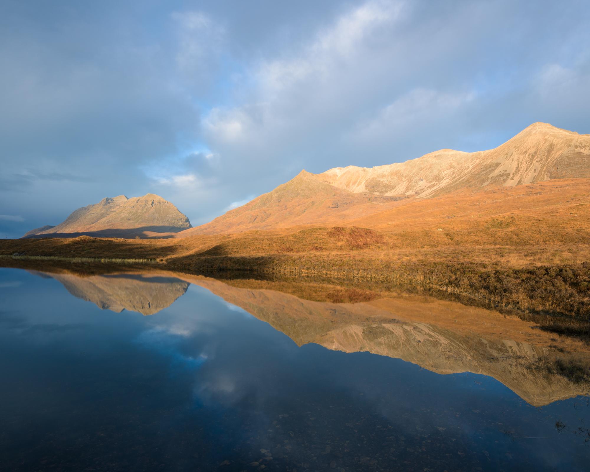 Loch Clair dawn