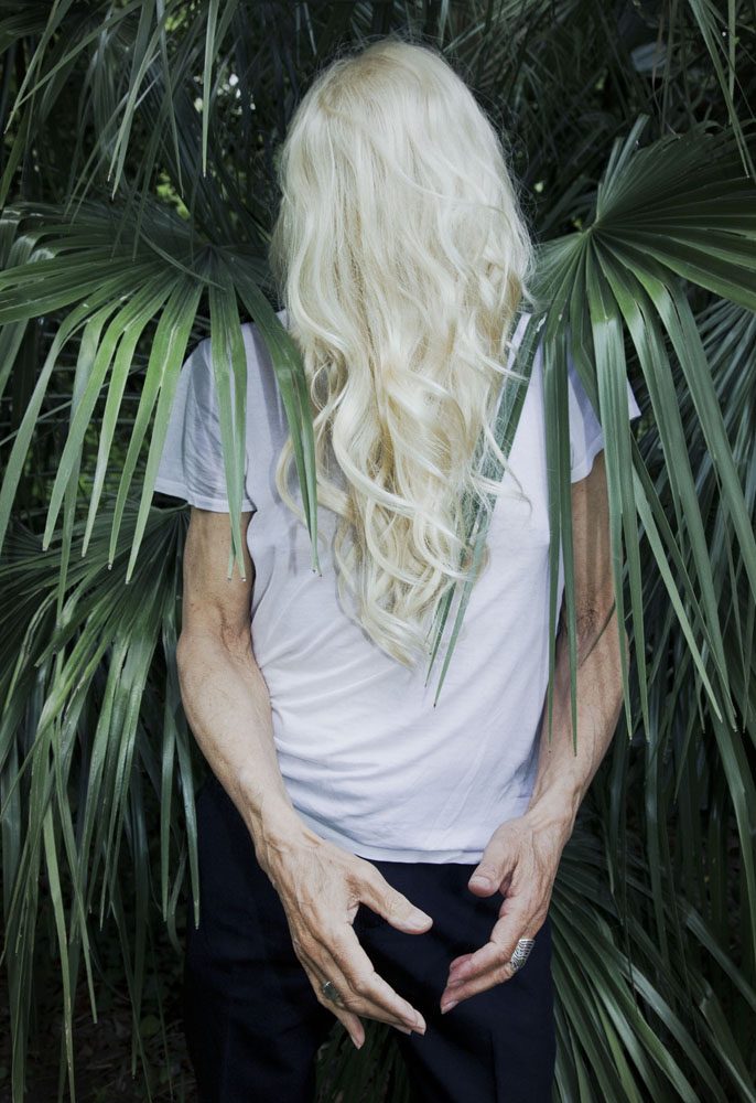 Copy of « LOOKING FOR THE MASTERS IN RICARDO'S GOLDEN SHOES #110 (TREND OF HAIR HIDING FACE) » BY CATHERINE BALET