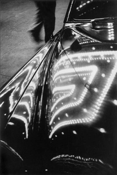 "Copy of ""TIMES SQUARE LIGHTS REFLECTED ON CAR"" BY HAROLD FEINSTEIN"
