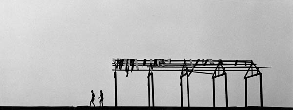 "Copy of ""TWO BOYS ON PIER"" BY HAROLD FEINSTEIN"