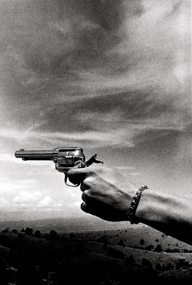 "Copy of ""Cowboy Clark"" by Ralph Gibson"