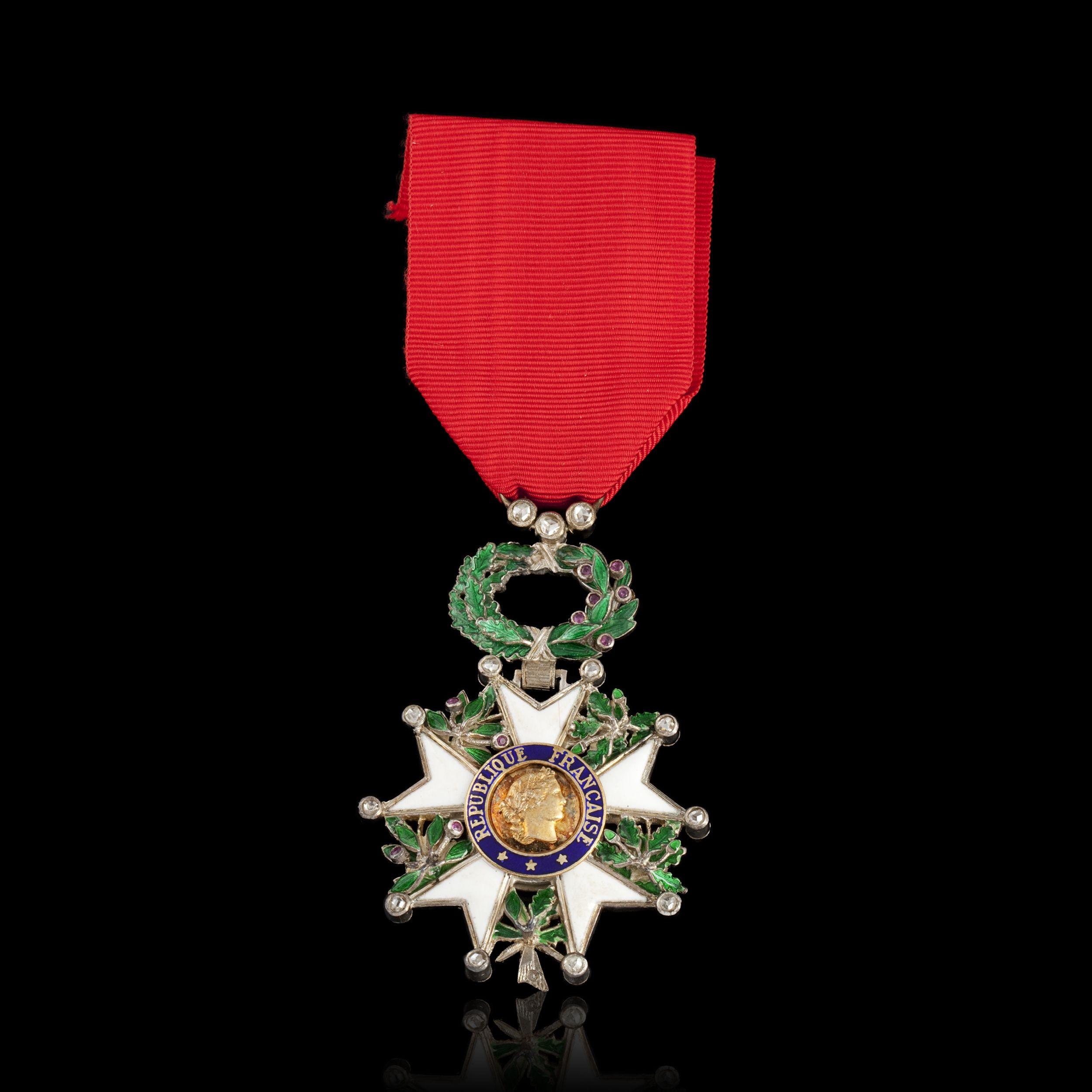 Ralph Gibson, Chevalier de la Légion d'Honneur