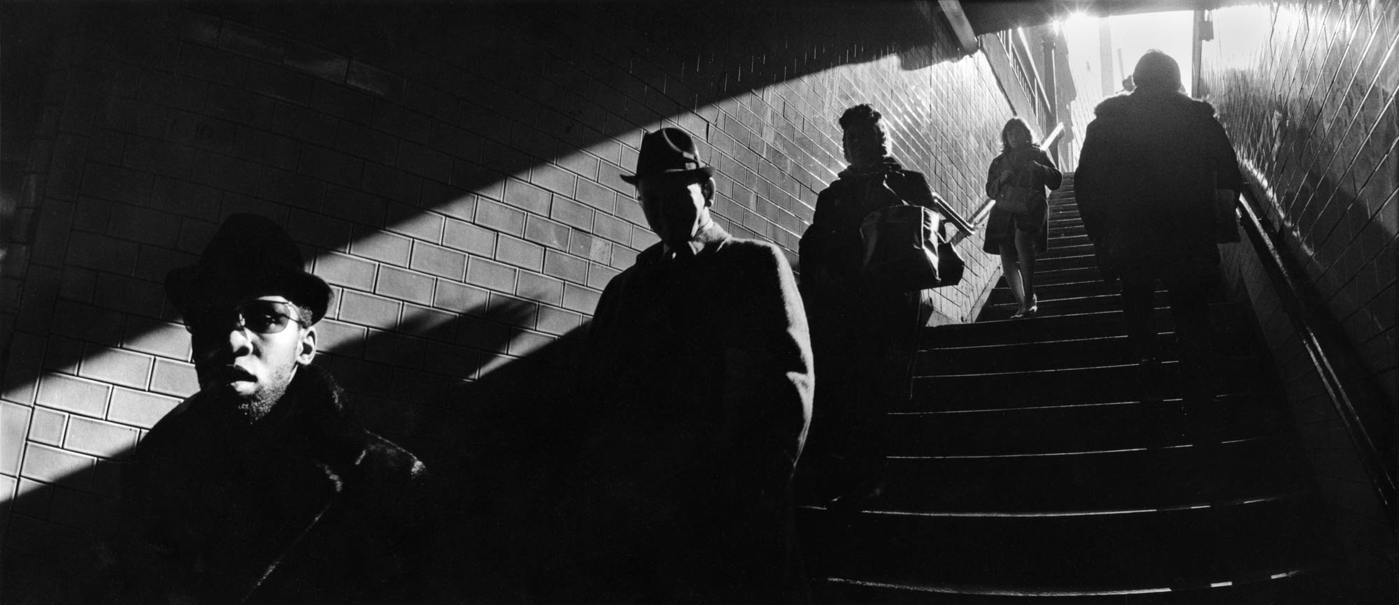 Copy of Ascending Subway Stairs (New York, NY), 1970