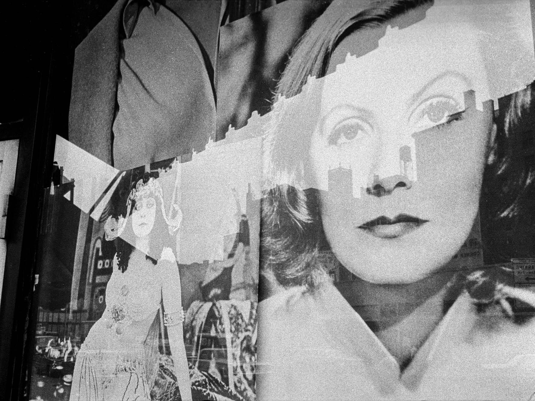 Copy of Greta Garbo Movie Poster (New York, NY), 1966