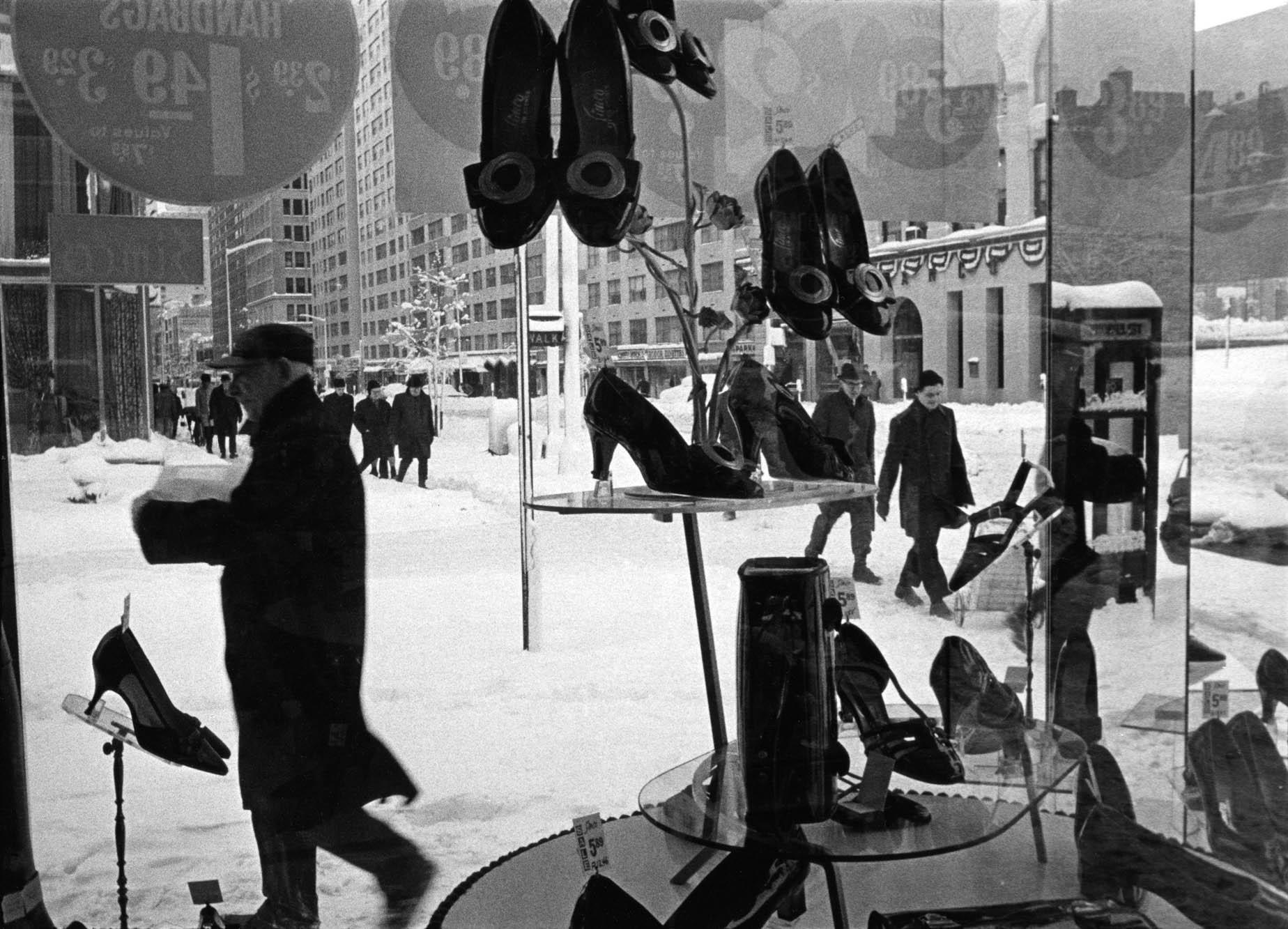 Copy of Shoe Store Window (New York, NY), 1969